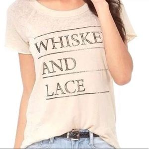 "🍹 NWOT ""Whiskey and Lace"" Chaser tee"